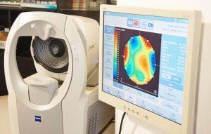 Visita Optometrica - Analisi visiva optometrica con valutazione delle aberrazioni oculari tramite iProfiler Zeiss
